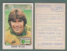 Norwich City John Ryan 271